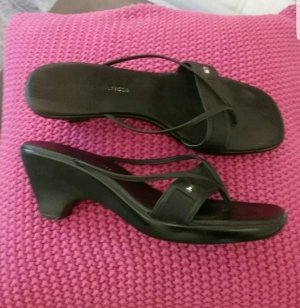 Tommy Hilfiger Toe-Post sandals black
