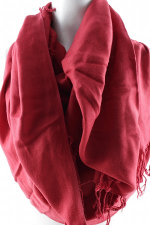 Sommerschal rot Casual-Look