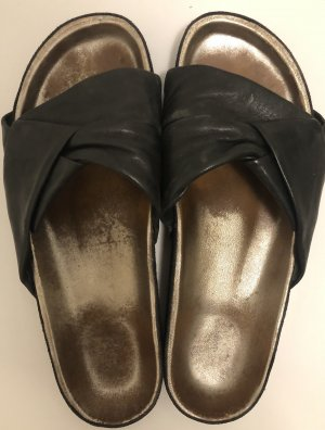 Isabel Marant Sandalias cómodas negro