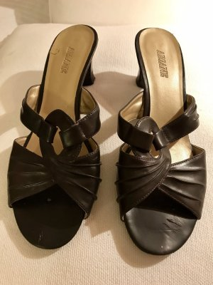 Ariane Roman Sandals dark brown