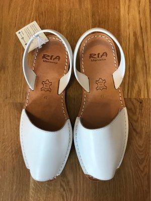 Sandalias romanas blanco