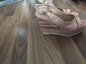 Graceland Platform Sandals salmon