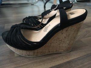 H&M Platform Sandals black