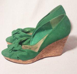 Sommerschuhe grün Gr 38 NEU