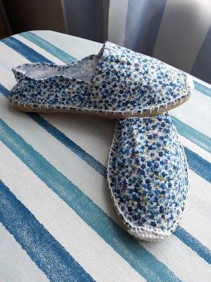 Espadrillas blu scuro-blu fiordaliso