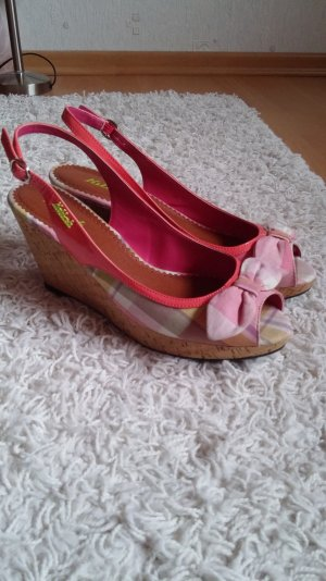 Killah Platform High-Heeled Sandal pink-pink