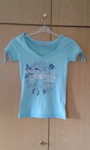 Sommershirt - hellblau