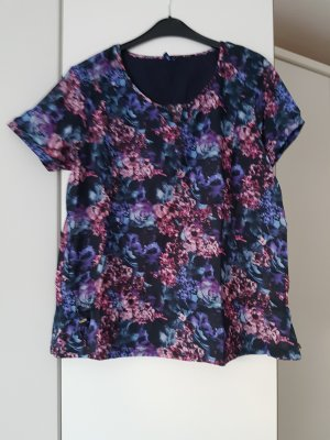 Cecil Shirt Tunic pink-dark blue