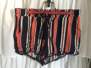 Atmosphere High-Waist-Shorts multicolored