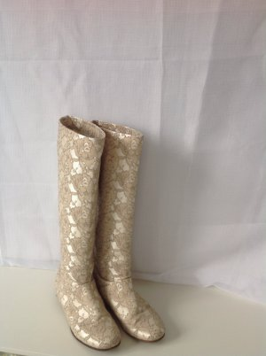 Sommerstiefel, Champagne Farbe, 39
