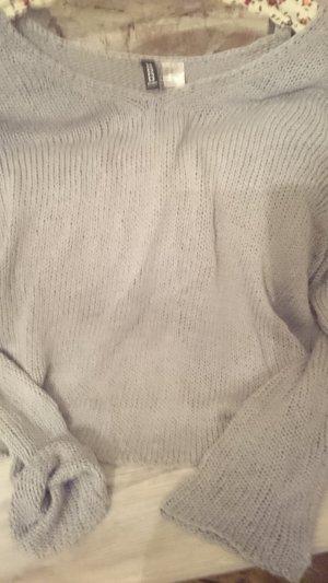 Mango Sweater light grey