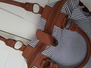 Sommertasche mit Streifen
