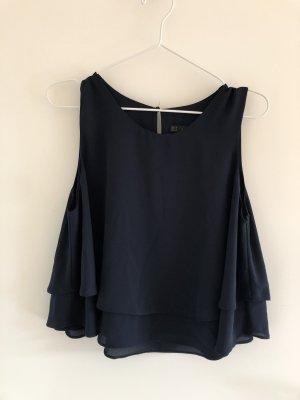 Zara Blusa blu scuro