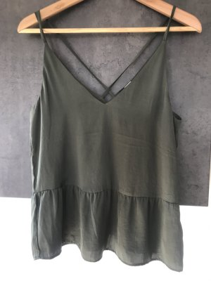 H&M Strappy Top khaki