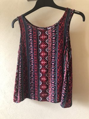 H&M Backless Top multicolored