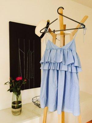 Sommertop/ Kleid mit Volants und Spaghettiträgern ZARA