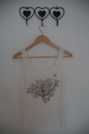 Sommertop mit Baum Print