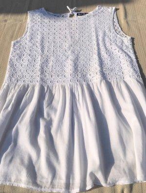 Lace Top white cotton