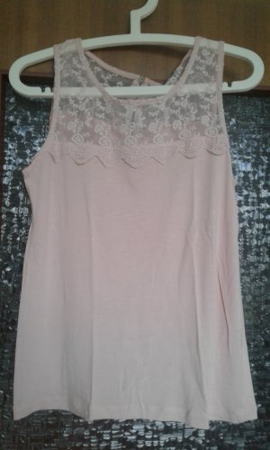 Yessica Lace Top dusky pink