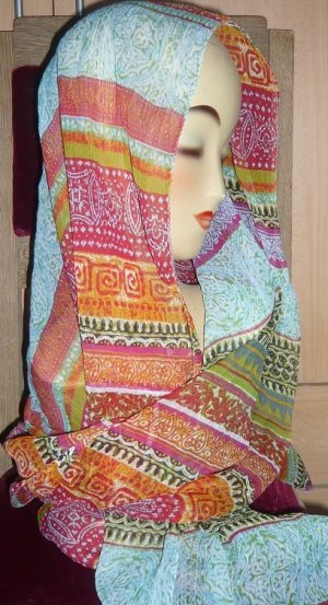 Tranquillo Silk Cloth multicolored silk