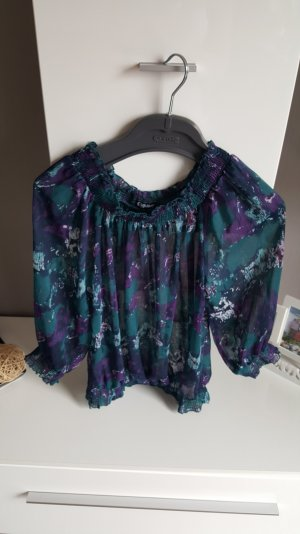 Chillytime Blouse transparente multicolore polyester