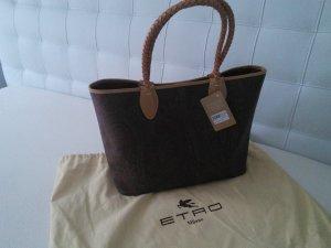 Sonderangebot!!!Etro Shopping Bag Brown Paisley