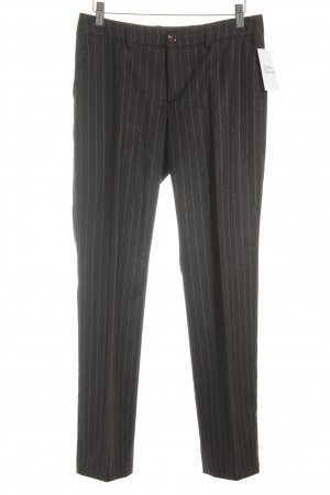 Sônia Bogner Suit Trouser taupe-light brown pinstripe business style