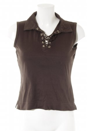 Sônia Bogner Basic Top dunkelbraun Casual-Look