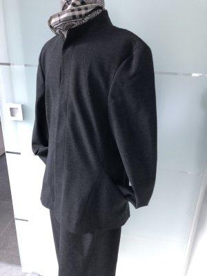 Sônia Bogner Tailleur gris anthracite laine vierge