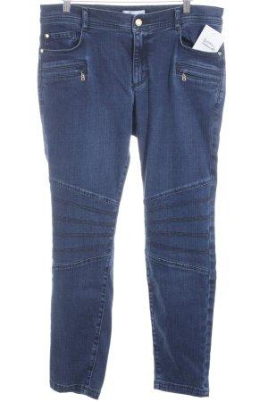 Sônia Bogner Slim Jeans dunkelblau Street-Fashion-Look