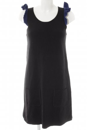 Sonia by Sonia Rykiel Strickkleid schwarz-blau Casual-Look