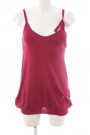 Sonia by Sonia Rykiel Knitted Top raspberry-red casual look