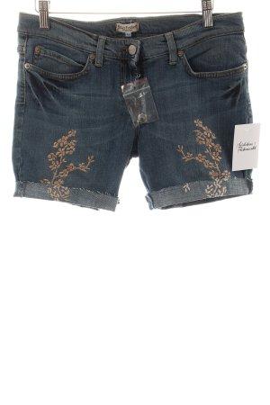 Sonia Fortuna Shorts blau-bronzefarben Casual-Look