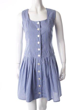 Vestido camisero azul-blanco