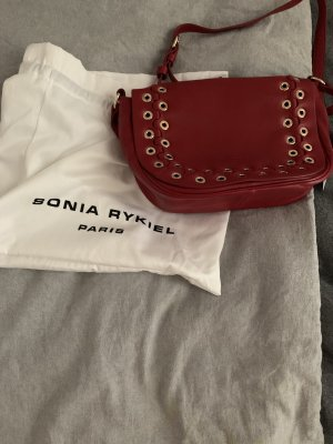 Sonia Rykiel Pouch Bag gold orange-dark red