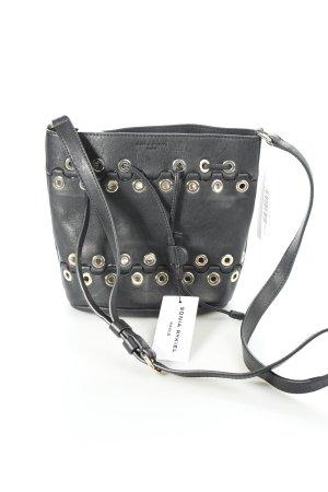 Sonia Rykiel Pouch Bag black-gold-colored