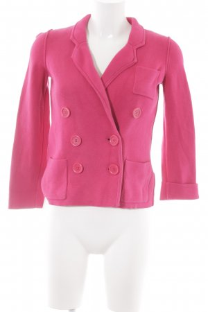 Sonia Rykiel for H&M Knitted Blazer magenta '50s style