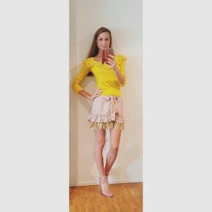 Sonia Rykiel H&M Sommer Pullover mit Ziersteinbesatz im Stil der 50er Jahre