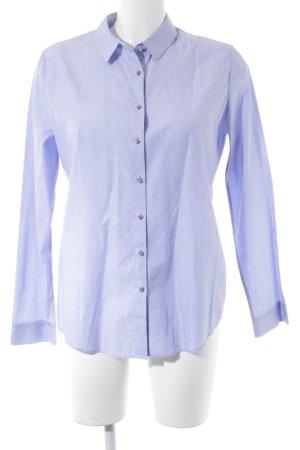 Sonia Rykiel Hemd-Bluse himmelblau-silberfarben Business-Look