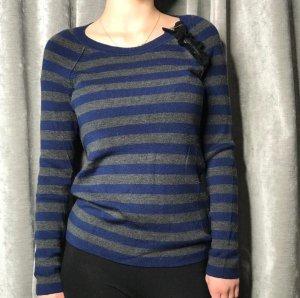 Sonia Rykiel Pullover Wolle mit Schulter-Zip