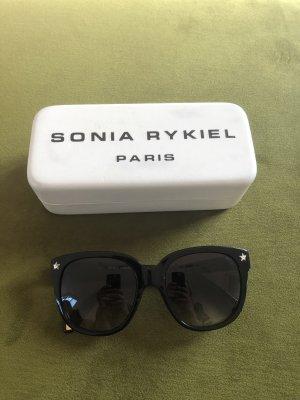 Sonia Rykiel Occhiale da sole spigoloso nero