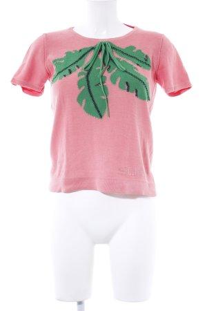 Sonia Rykiel Strickshirt florales Muster Casual-Look