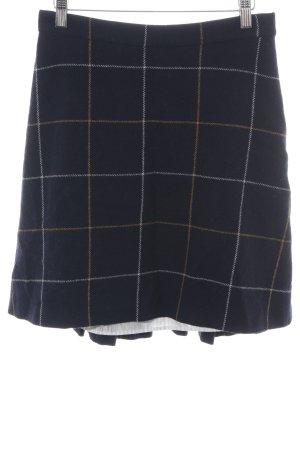 Sonia Rykiel Wool Skirt check pattern casual look