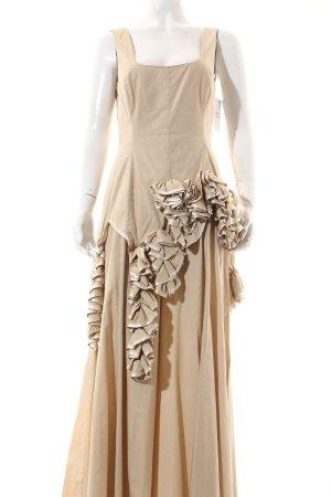 Sonia Speciale Maxikleid beige Elegant
