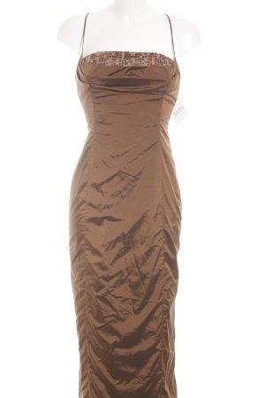 Sonja Kiefer Abendkleid camel-beige Elegant