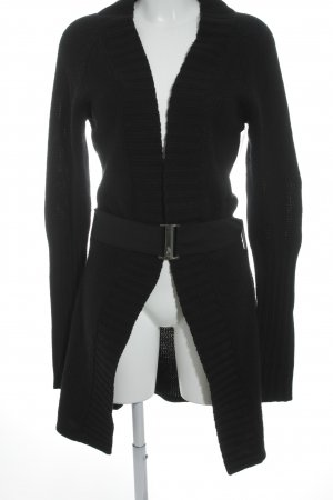 Sonja Kiefer Strick Cardigan schwarz Casual-Look
