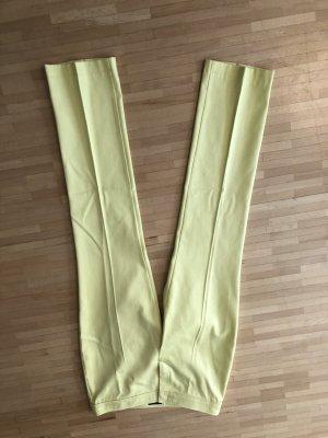 Escada Tailleur-pantalon jaune coton