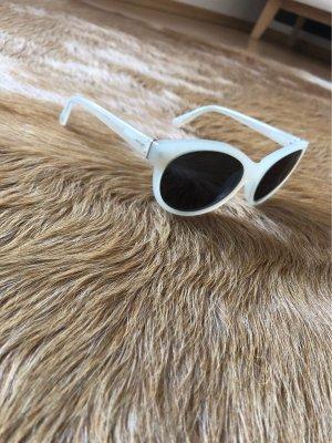 Fossil Retro Glasses cream-silver-colored