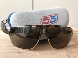 Diesel Oval Sunglasses multicolored