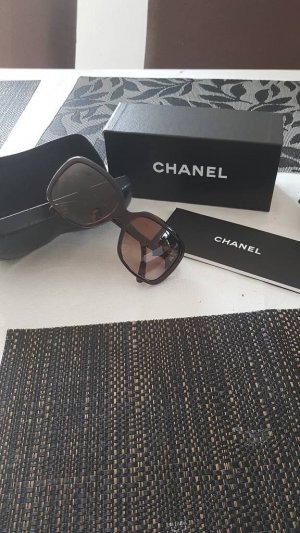 Chanel Angular Shaped Sunglasses multicolored